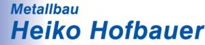 Metallbau Hofbauer Logo
